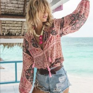 Spell and the Gypsy Aloha Fox Blouse
